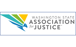 Washington State Association for Justice Logo horizontal